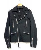 T by ALEXANDER WANG(ティーバイアレクサンダーワン)の古着「ライダースジャケット」 ブラック