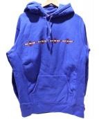 Supreme×Independent(シュプリーム×インディペンデント)の古着「fuck the rest hoodie」|ブルー
