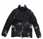 MONCLER(モンクレール)の古着「ライトニングボルトダウンジャケット」|ブラック