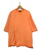 YEEZY SEASON3(イージーシーズン3)の古着「Tシャツ」|オレンジ