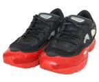 adidas×RAF SIMONS(アディダス×ラフシモンズ)の古着「OZWEEGO」|ブラック×レッド
