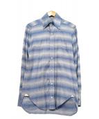 BARBA(バルバ)の古着「ボタンダウンシャツ」|ブルー