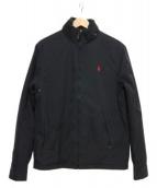 POLO RALPH LAUREN(ポロ・ラルフローレン)の古着「スタンドカラージャケット」|ブラック