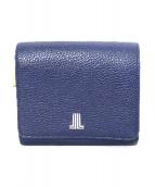 ()の古着「2つ折り財布」 ブルー