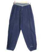 YOHJI YAMAMOTO(ヤマモトヨウジ)の古着「パンツ」|ネイビー