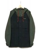 Columbia(コロンビア)の古着「中綿ジャケット」|グリーン×ブラック