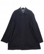 BROOKS BROTHERS(ブルックスブラザーズ)の古着「ステンカラーコート」|ブラック