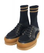 FENDI(フェンディ)の古着「ブーツ」 ブラック