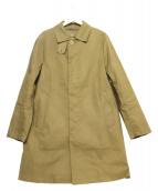 Traditional Weatherwear(トラディショナルウェザーウェア)の古着「ライナー付ステンカラーコート」|カーキ