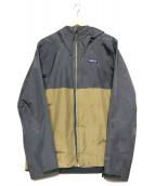 Patagonia(パタゴニア)の古着「トレントシェルジャケット」|グレー×カーキ