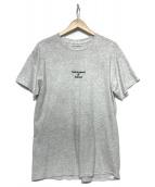 FPAR(フォーティーパーセンツ アゲインストライツ)の古着「半袖カットソー」 グレー