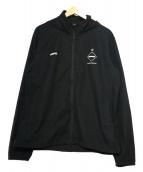 F.C.R.B.(エフシーアールビ)の古着「ジップアップジャケット」 ブラック