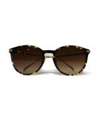 金子眼鏡(カネコメガネ)の古着「サングラス」|ブラウン