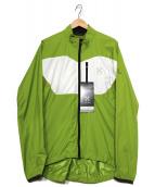 HAGLOFS(ホグロフス)の古着「マウ7ンテンジャケット」 ホワイト×グリーン