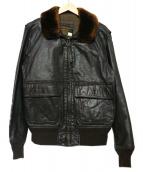 flight apparel industries(フライトアパレル)の古着「G-1ジャケット」|ブラウン