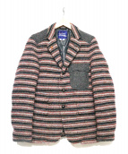 CDG JUNYA WATANABE MAN(コムデギャルソンジュンヤワタナベマン)の古着「ウールダウンジャケット」|マルチカラー