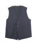 UMIT BENAN(ウミットベナン)の古着「ジレ」|ネイビー