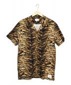 THE CRIMIE(ザクライミー)の古着「オープンカラーシャツ」 ブラウン