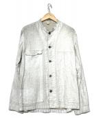 ARTS&SCIENCE(アーツ&サイエンス)の古着「コーティングジャケット」|ホワイト
