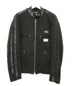 Lewis Leathers(ルイスレザーズ)の古着「スポーツマンジャケット」|ブラック