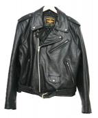 MORGAN MEMPHIS BELLE(モーガン メンフィス ベル)の古着「レザージャケット」 ブラック