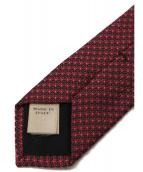 BURBERRY(バーバリーズ)の古着「シルクネクタイ」 レッド