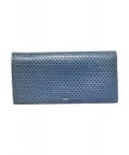 LANVIN en Bleu(ランバンオンブルー)の古着「長財布」|ネイビー