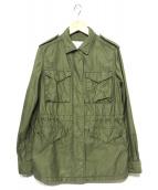 UNITED ARROWS TOKYO(ユナイティッドアローズトウキョウ)の古着「ミリタリージャケット」|カーキ