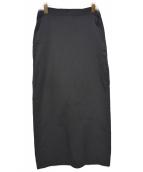 Ys(ワイズ)の古着「オールドロングスカート」|ブラック