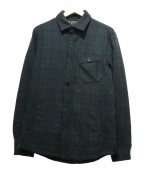 nano・universe(ナノユニバース)の古着「ダウンシャツジャケット」 ネイビー