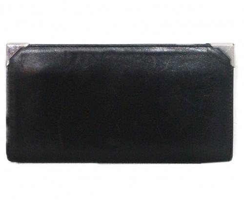 ALEXANDER WANG(アレキサンダーワン)ALEXANDER WANG (アレキサンダーワン) 長財布 ブラック PRISMA SKELETAL LONG COMPACT IN BLACK Walletsの古着・服飾アイテム