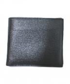 Larcobaleno(ラルコバレーノ)の古着「2つ折り財布」|グレー×ブラック
