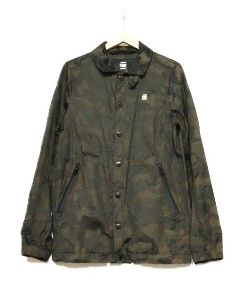 G-STAR RAW(ジースターロウ)G-STAR RAW (ジースターロウ) コーチジャケット グリーン サイズ:表記XXS Hedrove Coach Jacketの古着・服飾アイテム