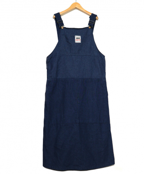 77circa(ナナナナサーカ)77circa (ナナナナサーカ) ジャンパースカート ブルー サイズ:表記なしの古着・服飾アイテム