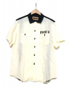 WEIRDO(ウィアード)の古着「ボーリングシャツ」|ホワイト
