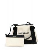 BALENCIAGA(バレンシアガ)の古着「ミニ2WAYショルダーバッグ」|ナチュラル×ブラック
