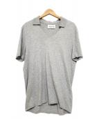 Martin Margiela 10(マルタンマルジェラ10)の古着「ポロシャツ」|グレー