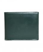 ETTINGER(エッティンガ)の古着「2つ折り財布」|グリーン