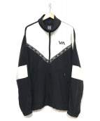 RVCA(ルーカ)の古着「トラックジャケット」|ブラック