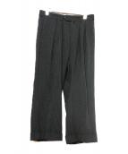 NEAT(ニート)の古着「ストライプパンツ」|ブラック