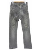 NEIL BARRETT(ニールバレット)の古着「デニムパンツ」|グレー