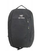 ARCTERYX(アークテリクス)の古着「バックパック」|ブラック