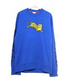 KENZO(ケンゾー)の古着「GW Jumping Tiger Sweatshirt M」|ブルー
