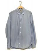 YAECA(ヤエカ)の古着「スナップボタンシャツ」|ブルー