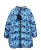 PEUTEREY(ビューテリ)の古着「ダウンコート」|ブルー×ブラック