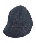 ATLAST & CO(アットラスト&コー)の古着「キャップ」|インディゴ