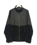 YANTOR(ヤントル)の古着「Suede Track Suit」|ブラック×グレー