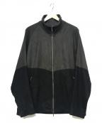 YANTOR(ヤントル)の古着「Suede Track Suit」 ブラック×グレー
