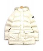PEUTEREY(ビューテリー)の古着「フォックスファーダウンジャケット」|ホワイト