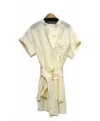 Rito(リト)の古着「オフィサーカラーブラウス」 オフホワイト